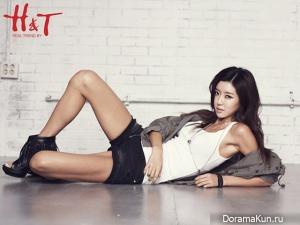 Park Han Byul для H&T 2012