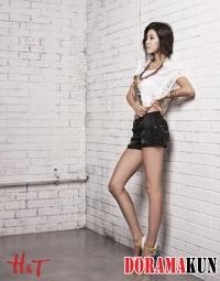 Park Han Byul для H&T Summer 2012 Ad Campaign