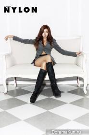 Park Han Byul для NYLON October 2012