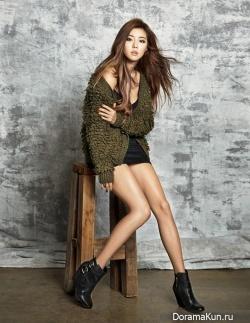 Park Han Byul для W Korea November 2013