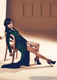 Park Jin Hee для Elle Korea October 2012