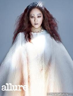 Park Joo Mi для Allure Korea August 2013
