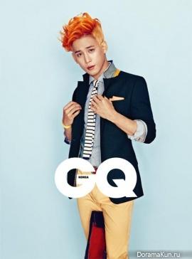 Park Ki Woong для GQ March 2013