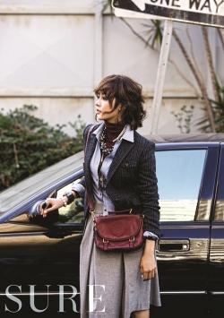Sung Yuri, Park Min Young для Sure September 2011