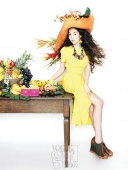 Park Min Young для Vogue Girl Korea March 2011