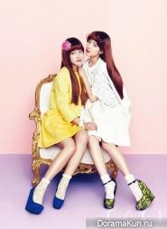 Park Shin Hye, Park Se Young для CeCi February 2013 Extra