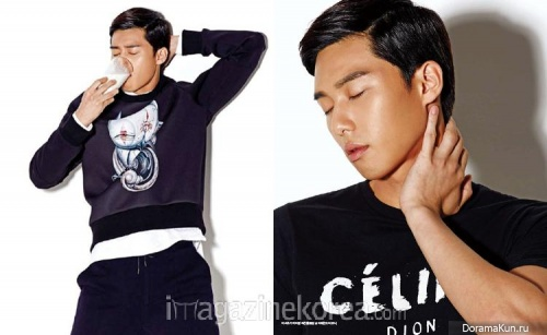 Park Seo Joon для Esquire October 2013