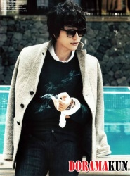 Park Shi Hoo для Marie Claire December 2011