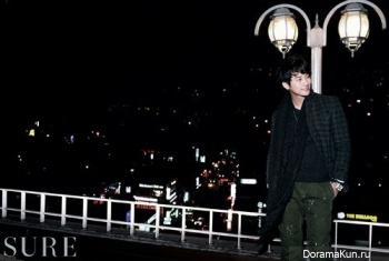 Park Shi Hoo для Sure February 2012