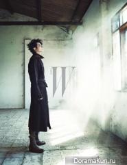 Park Shi Hoo для W Korea 2012