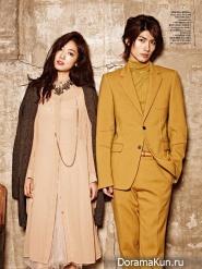 Park Shin Hye, Haruma Miura для CeCi September 2013 Extra