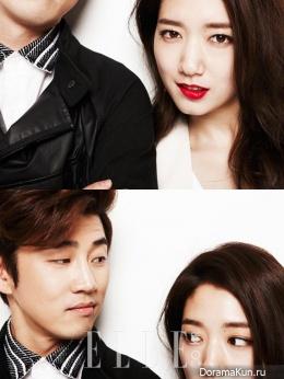 Park Shin Hye и др. для Elle April 2013