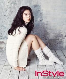 Park Shin Hye для InStyle January 2013