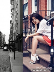 Park Shin Hye для InStyle June 2014