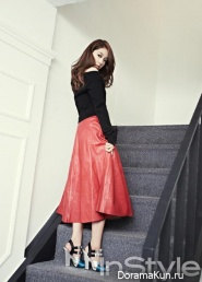 Park Shin Hye для InStyle Korea October 2013 Extra