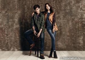 Park Shin Hye, Lee Jong Suk для JAMBANGEE FW 2013 Ads 2