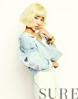 Park Shin Hye для Sure July 2012
