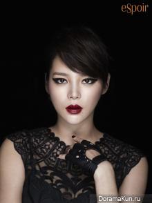 Park Si Yeon для ESPOIR 2012 ADS