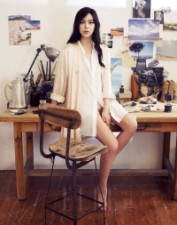 Park Si Yeon для Elle Korea 2012