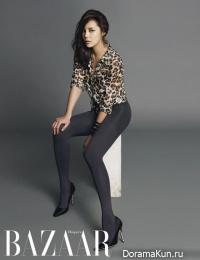 Park Si Yeon для Harper's Bazaar October 2012