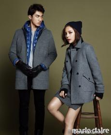 Park Si Yeon для Marie Claire November 2012