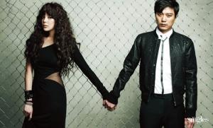 Park Si Yeon, Park Hee Soon для Singles April 2012