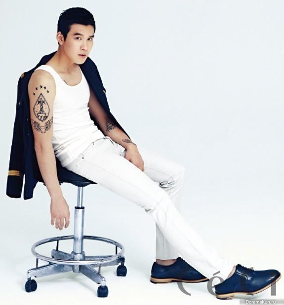 Park tae hwan для ceci january 2013