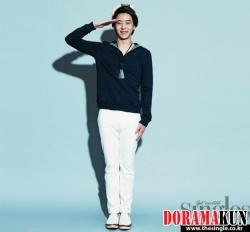 Park Yoo Hwan для Singles July 2011