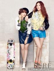 Jaekyung, Woori (Rainbow) для SURE April 2013