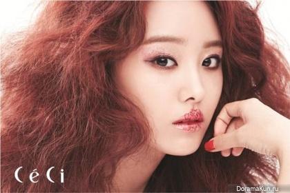 Secret (Jieun) для CeCi Korea September 2013