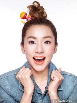 2NE1's Sandara Park, SHINee для Etude House Ad Campaign