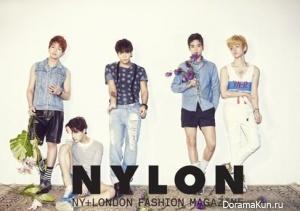 SHINee для NYLON March 2013