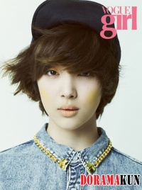 SHINees Minho, f(x)s Sulli для Vogue Girl Korea 2012