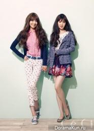 Sooyoung, Seohyun для CeCi March 2013