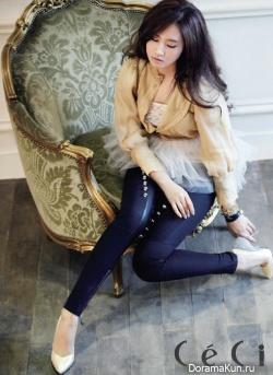 SNSD's Yuri для CeCi September 2012