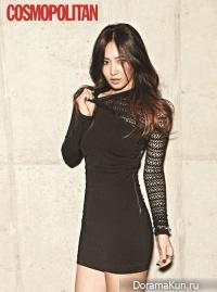 SNSD (Yuri) для Cosmopolitan Korea November 2013