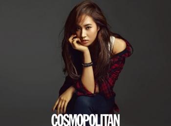 Jessica, Tiffany, Yuri (SNSD) для Cosmopolitan October 2011