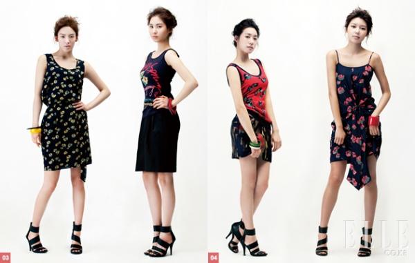 SNSD для Elle Korea April 2010