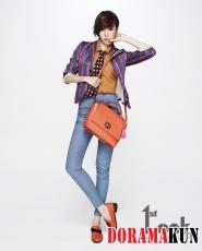 SNSD's Tiffany для First Look Vol. 26
