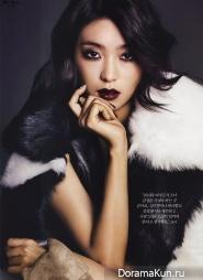 Tiffany (SNSD), Bora (Sistar) для Harper's Bazaar January 2014