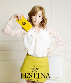 SNSD для J. Estina Spring 2012 Catalogue