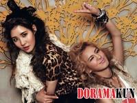 Hyoyeon, Seohyun (SNSD) для Nylon August 2012