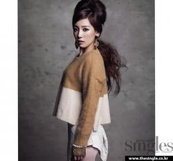 SNSD's Sunny, Taeyeon для Singles November 2011