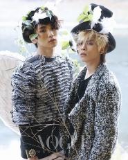 SHINee, SNSD's Seohyun для Vogue Korea December 2009