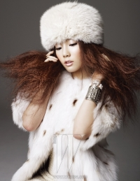SNSD для W Korea December 2010