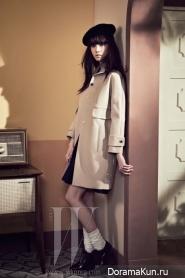 Yoona, Seohyun, Krystal, Sulli, Taemin, EXO для W Korea March 2012