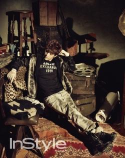 SE7EN для InStyle Korea October 2010