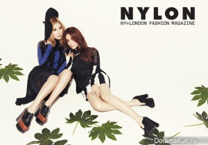 Secret для Nylon Magazine January 2014