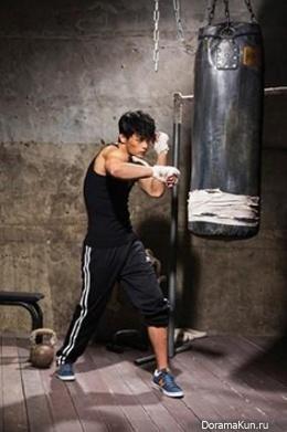 Seo In Guk для Men's Health Korea September 2013
