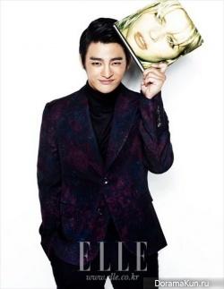 Seo In Guk для Elle November 2012